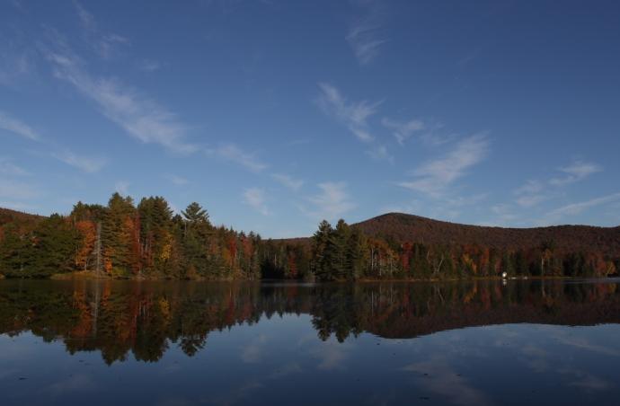 A calm October day