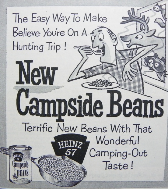 Make Believe With That Camping-Out Taste!