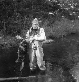Unidentified Man with Beaver