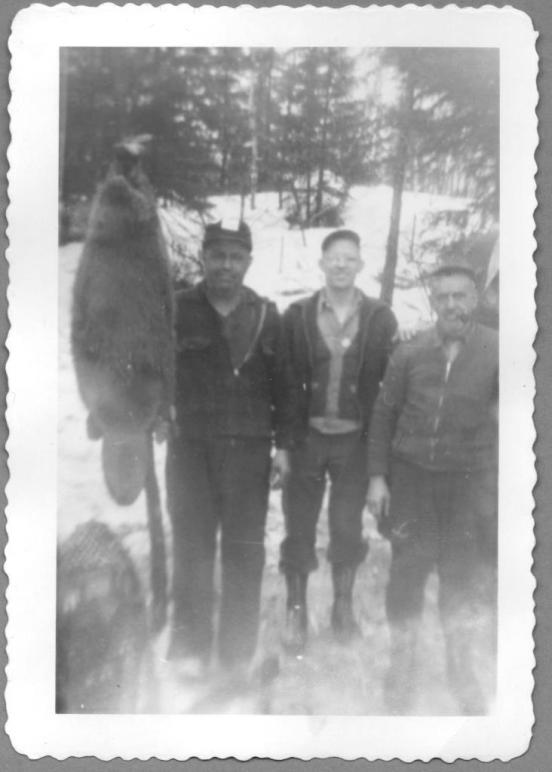 Three Men and a Beaver