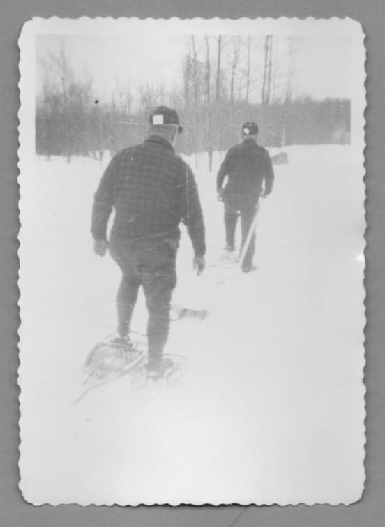 Heading out on Snowshoes