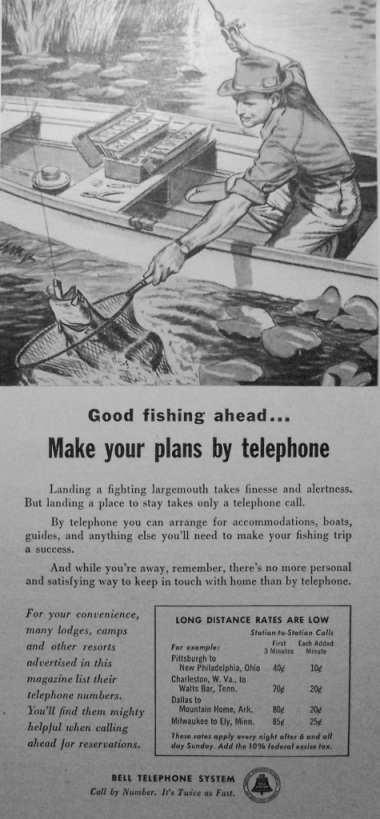 Make Your Plans By Telephone
