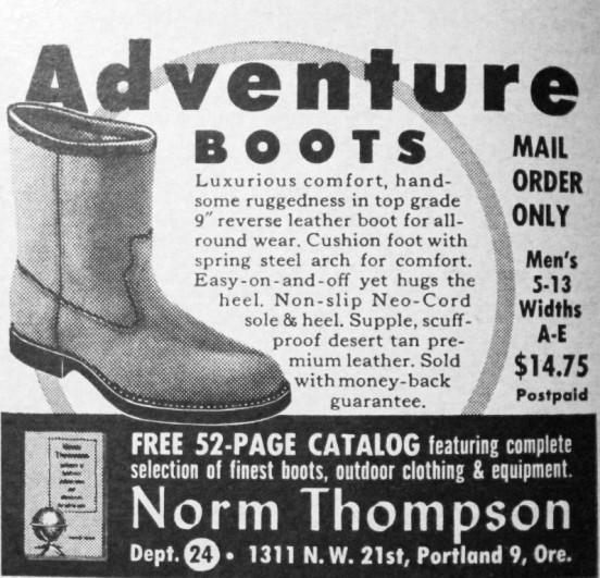 Norm Thompson Adventure Boots