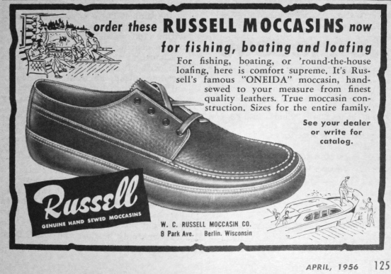 russell moccasins