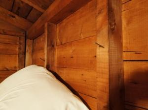 Top bunk convenience.