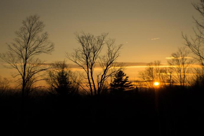 Sunset from the Sugarhouse